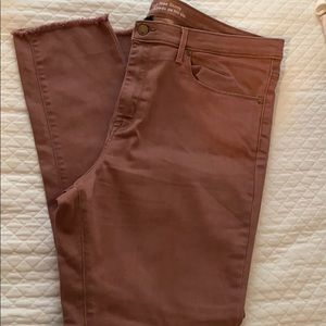 Dusty Rose High Rise Skinny Size 18R